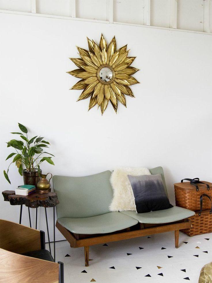 DIY Starburst Mirror Inspiration Pic