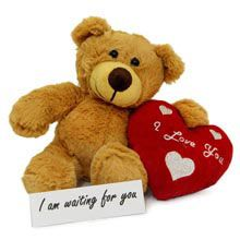 A good gift for girlfriend: Love Teddy Bear For Valentine