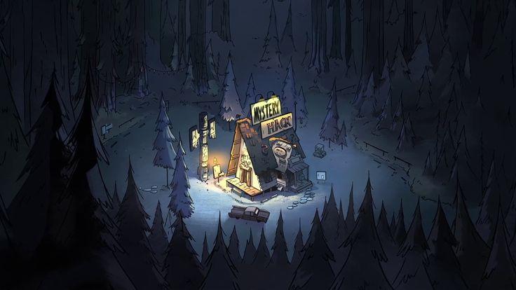 Cabaña del Misterio, una tienda para turistas ubicada en Gravity Falls, Oregón. Stan vende artículos falsos sobre supuestas criaturas sobrenaturales que viven en el pueblo, los cuales compran los visitantes, quienes creen las historias y pagan los altos precios de los productos.