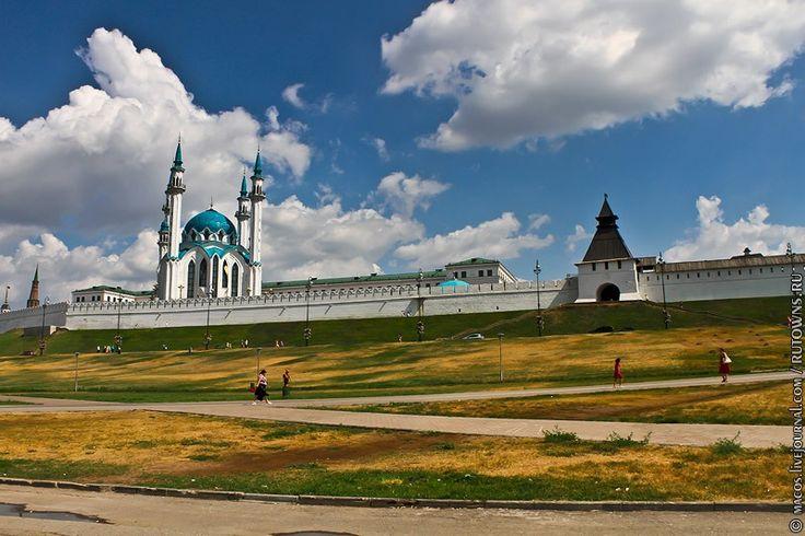 Казань. Мечеть Кул шариф.