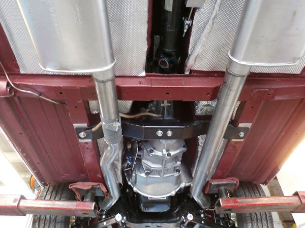 Dual Cherry Bomb Turbo mufflers, part# 16802.