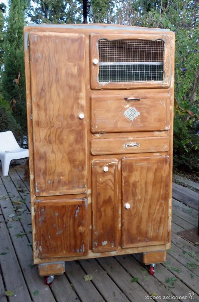 Mueble del panadero foto 1 coleccion muebles antiguos - Muebles antiguos ...