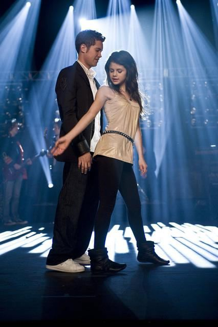 "Drew Seeley and Selena Gomez in ""Another Cinderella Story"" tonight on ABC Family!"