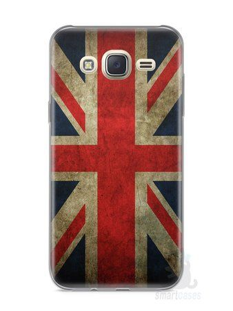 Capa Capinha Samsung J7 Bandeira da Inglaterra