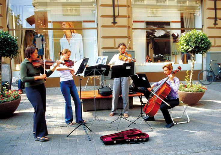 Helsinki, Finland  Strret Musicians