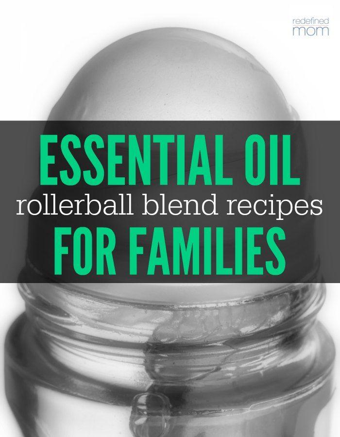 Combate doenças comuns com óleos essenciais - aqui estão 25 Óleo Essencial Rollerball Misturas e Receitas para famílias que cada membro em sua casa pode usar.