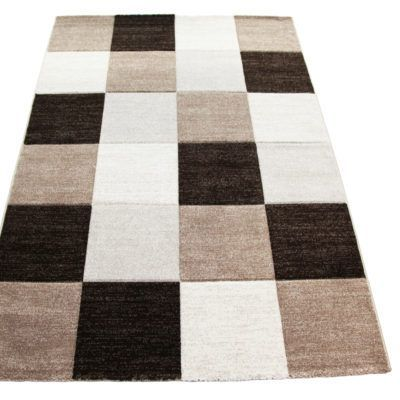 Patterned #Rugs & #Carpets - Heat Set Polypropylene Frieze #Carved #Shaggy Rugs #Brown combinations