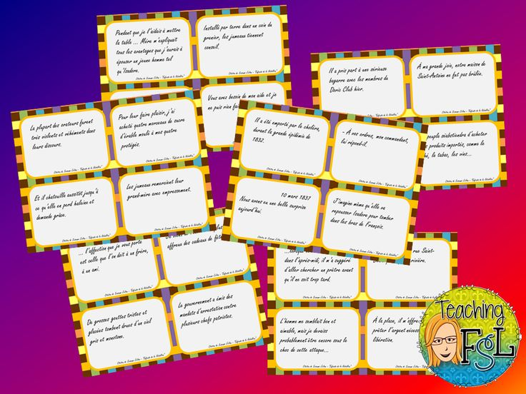 Teaching FSL - freebie - Enfants de la rébellion. Minds-on / pre-reading activity for this novel in intermediate French immersion or senior Core French