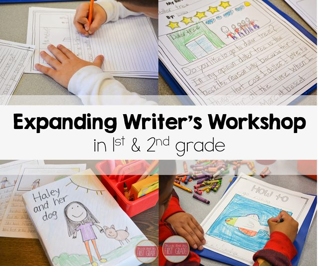 Take a close look at how I expanded writer's workshop in my first grade classroom this year. My students' work AMAZED me!