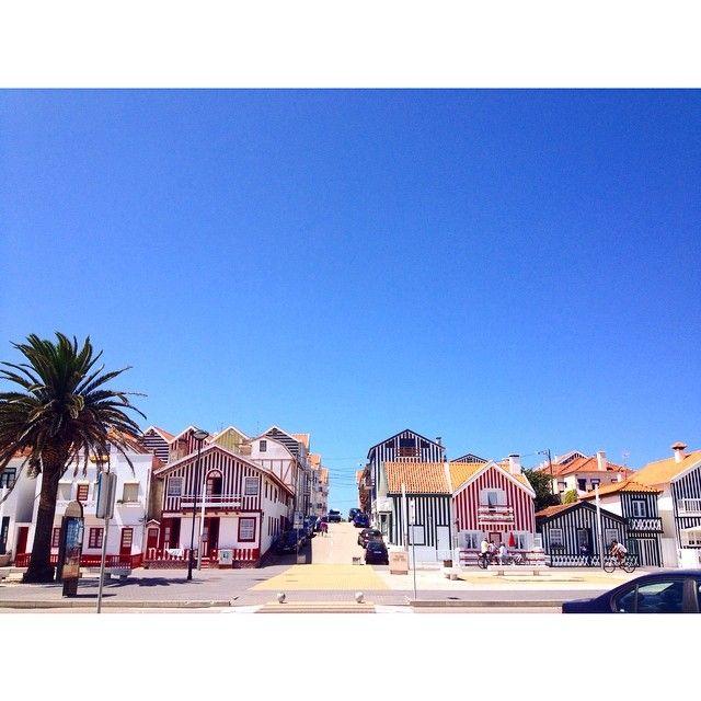 Costa Nova, Portugal   thespacecaptain · Praia da Costa Nova