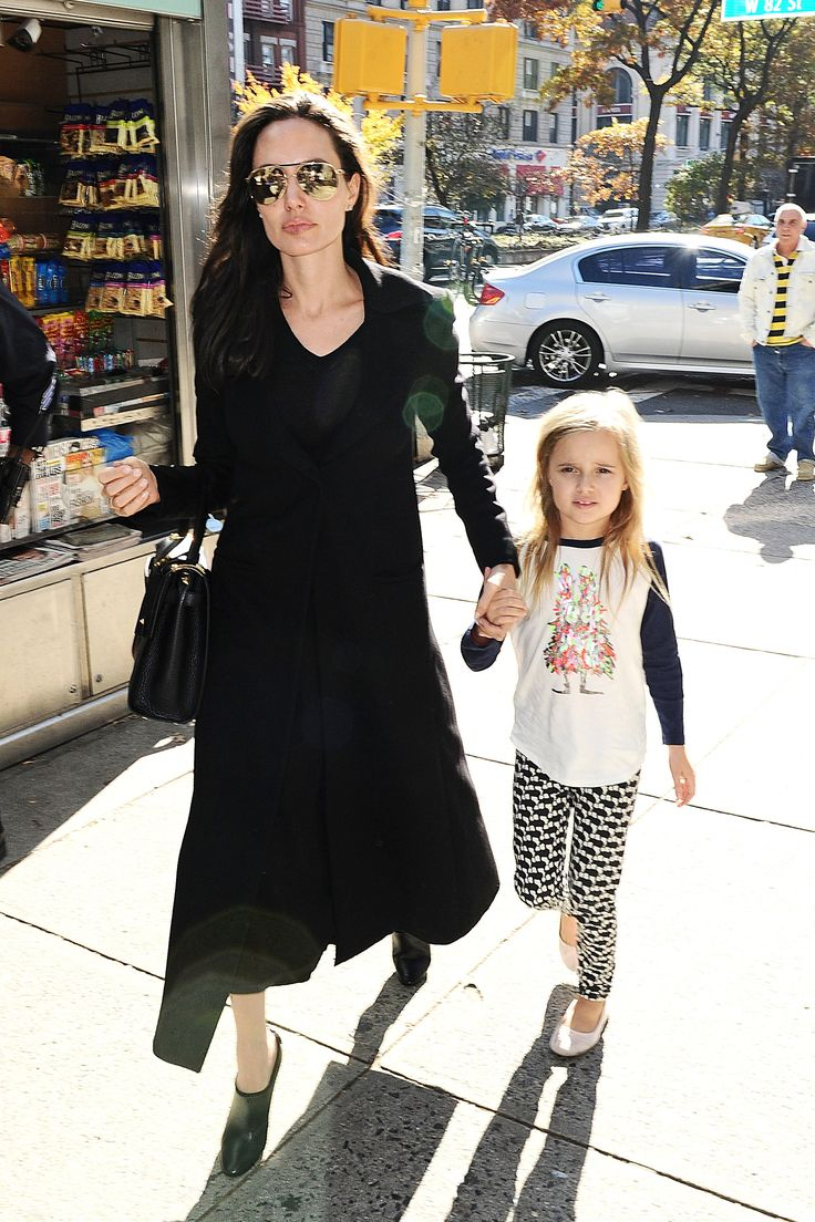 Angelina Jolie Pitt Has the Answer to Styling Fall's Trickiest Skirt Length
