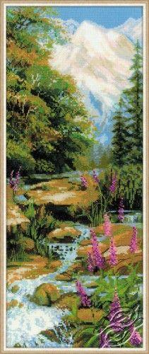 Mountain River - Cross Stitch Craft Kits by RIOLIS - 1487