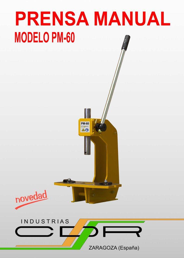 Prensa Manual Modelo PM-60