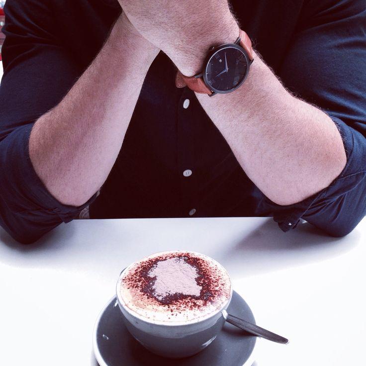 Tan & Black ✔️ #coffee