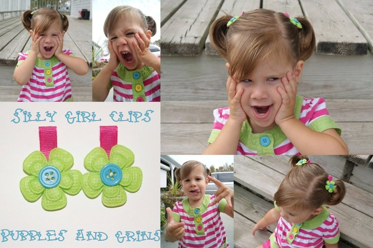 From newborn fuzz to big girl tendrils, No-slip clips are a must have for your mini fashionista!