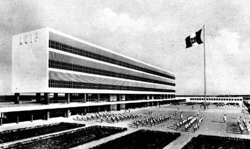 "GIUSEPPE VACCARO'S:  Colonia Marina ""Sandro Mussolini""   (AGIP), Cesenatico, 1936-38"