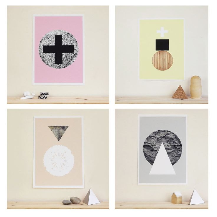 Graphic Textures Posters by Becky Kemp for Sketch.inc - Design Milk