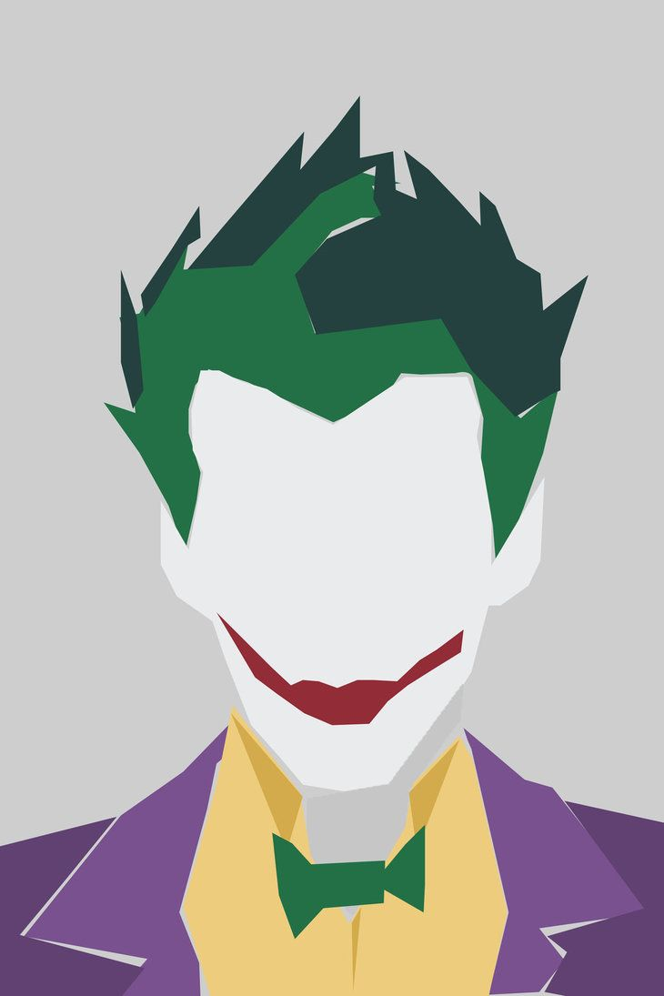 Mr. Happy -Minimalist Joker by NEVERMORE7272