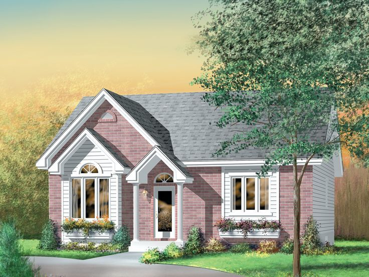 Empty nester house plan 072h 0032 1110 sq ft 2 bed Best empty nester house plans