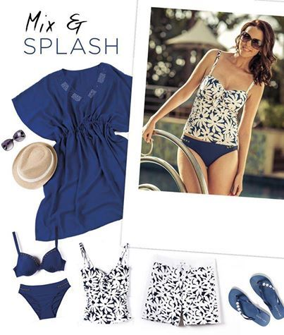 Summers on its way! Time to Mix & Splash in fabulous swimwear from Miladys!