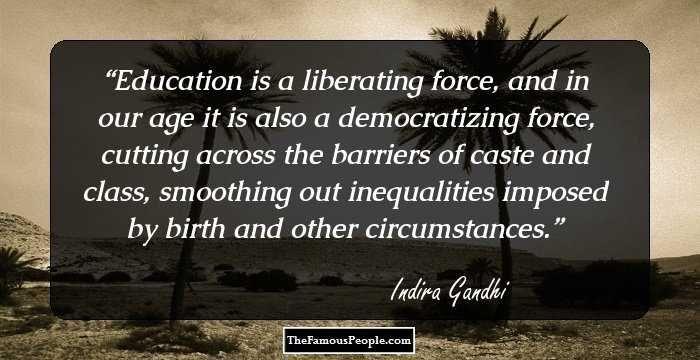 gandhi philosophy of education