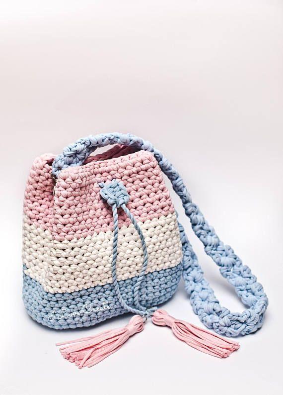 Crochet bag pattern Crochet tutorial Bryce bag PDF pattern | Bolsas ...