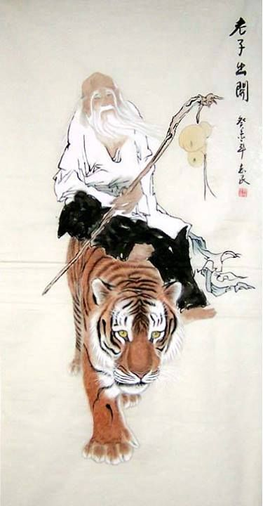 Lao Tzu, founder of Taoism and a God realized human being