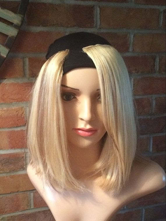 Custom design shoulder length layered bob with full by Headshigh