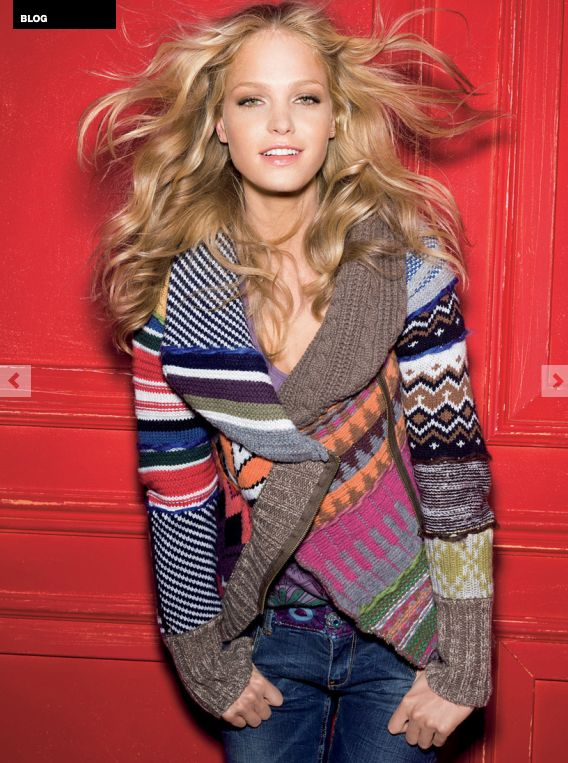 Desigual Jacket - crochet sth like this?