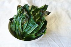 Have you ever had collard greens before?  Until recently, my only experience with collards had been Southern style, swimming in bacon, served next to a giant pan of mac 'n cheese.  When Jeff and I were first married, we spent 2 baseball seasons living in Birmingham, Alabama.  He played for the Birmingham Barons, and I put my dietetics degree to use by working at a golf course and selling beer…
