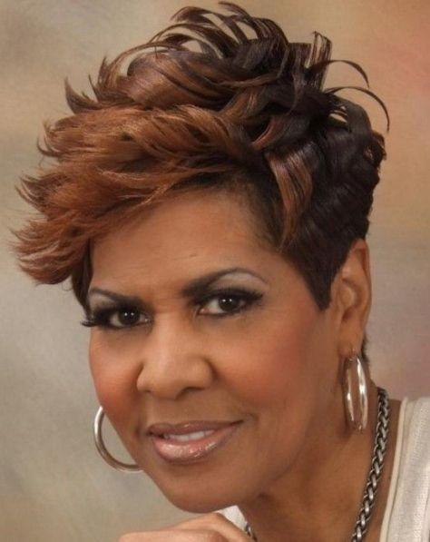 Hairstyles For Black Women Over 50 Hair Short Hair Styles Hair