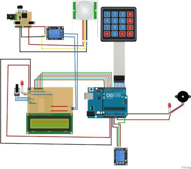 Diy Passcode Lock System Using Arduino Home Security
