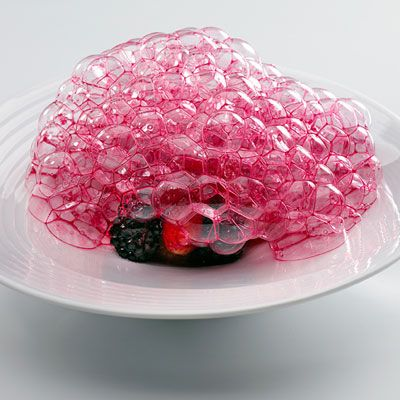 Mugaritz - Spain  Dish: Red Fruits from the Garden by Chef Andoni Luis Aduriz