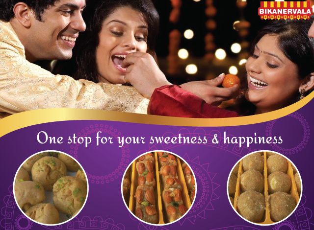 One stop for your sweetness and happiness..!!! ‪#‎Bikanervala‬ ‪#‎onlinesweetss‬ ‪#‎storesindelhi‬