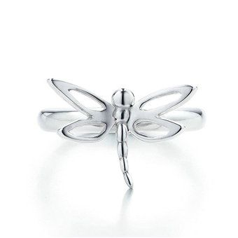 Tiffany  Co Dragonfly Silver Ring