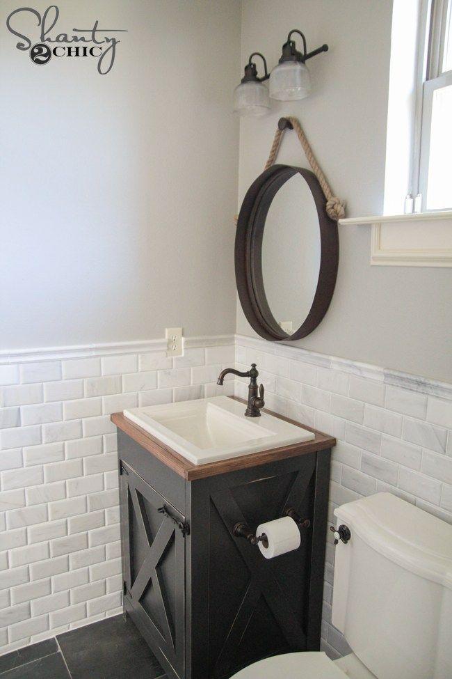 36++ Farmhouse bathroom vanities ideas