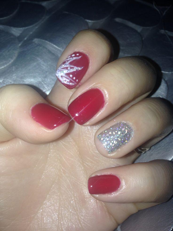 deco paillette nails ongles vernis ongles noel et ongle deco
