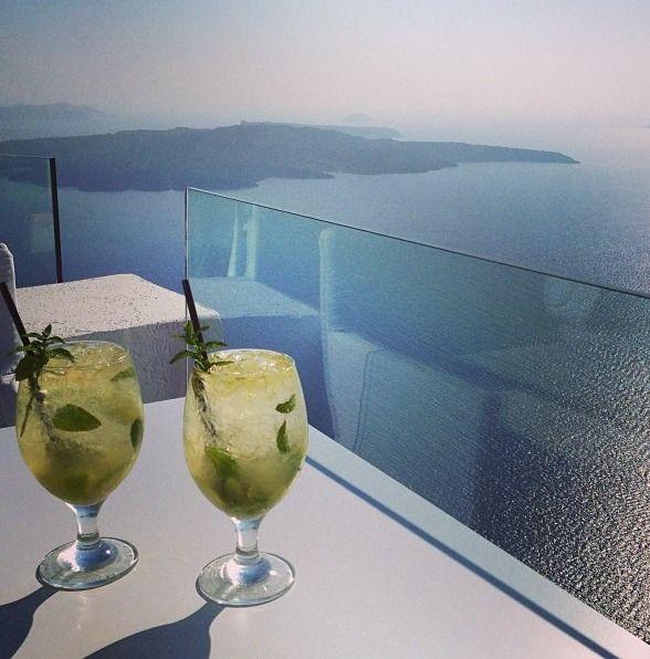 SUN ROCKS Hotel, Santorini | Mojitos