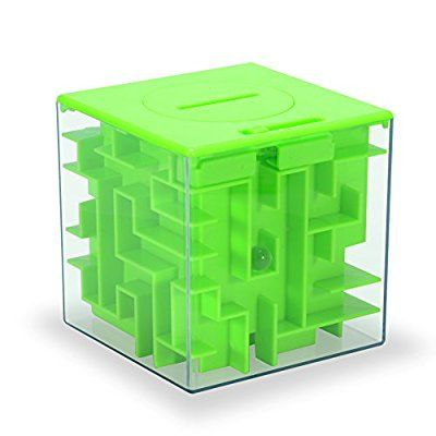 Money Maze Puzzle Box, Twister.CK Maze Puzzles for Money, Fun Birthday Christmas Gift Ideas for Kids and Adults
