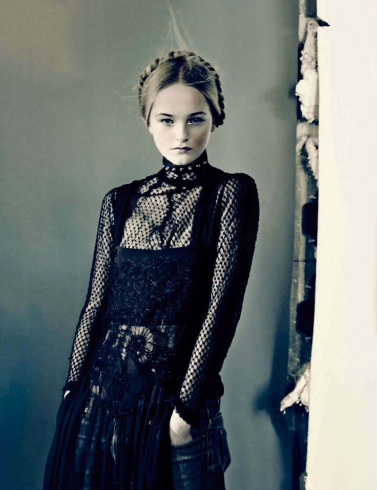 Jean Campbell by Paolo Roversi for Vogue Italia March 2014 1