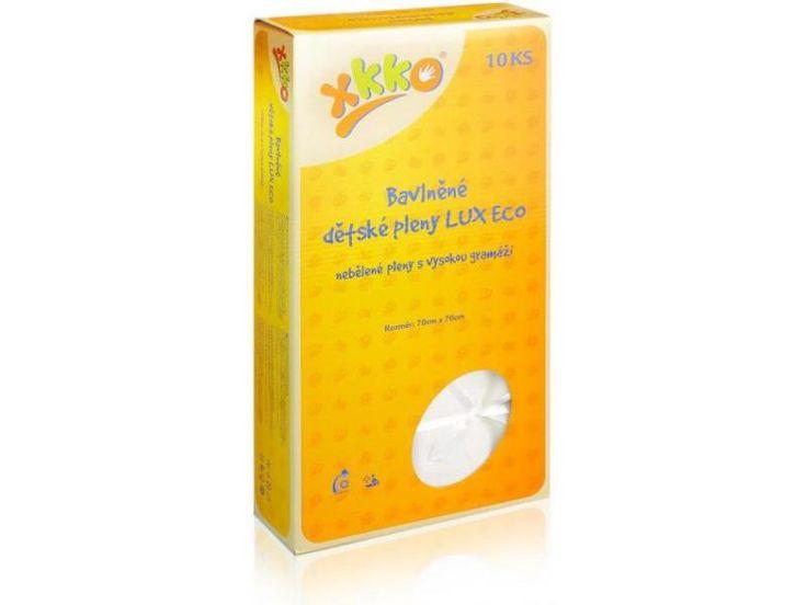 Bavlněné dětské pleny KIKKO 70x70 LUX ECO režná 10ks 389 +100,-