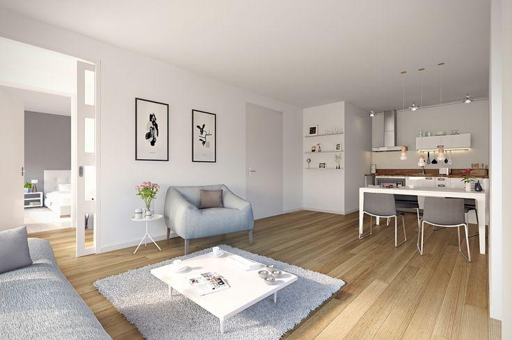 Visualisaties appartementencomplex Messchenstaete Assen