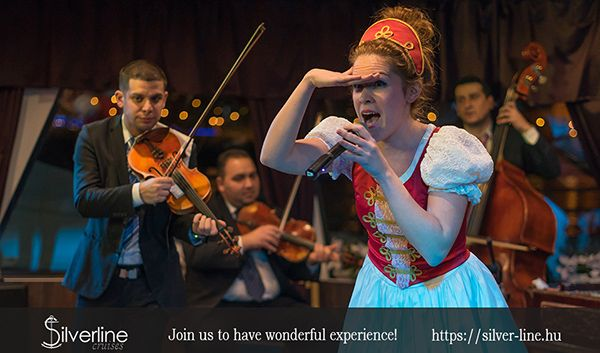Budapest cruise with operetta or folklore show.