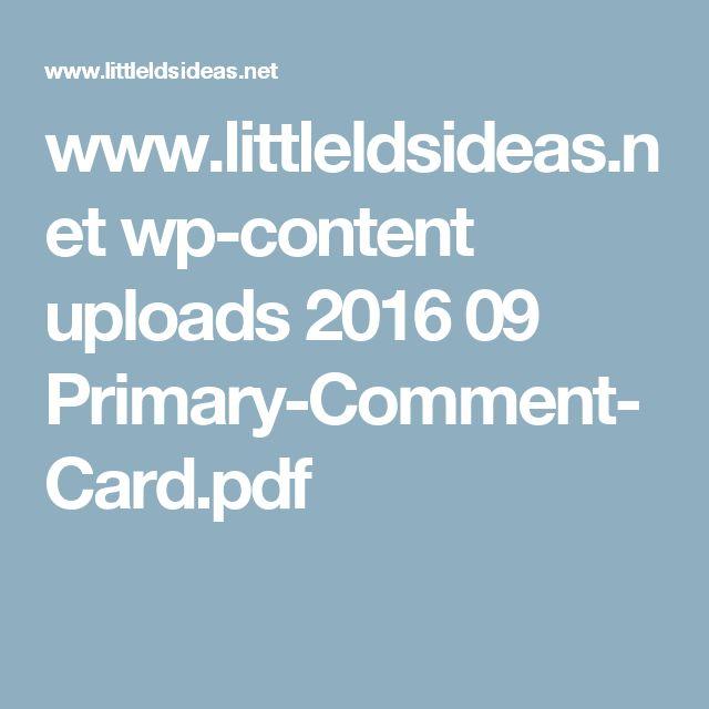 www.littleldsideas.net wp-content uploads 2016 09 Primary-Comment-Card.pdf