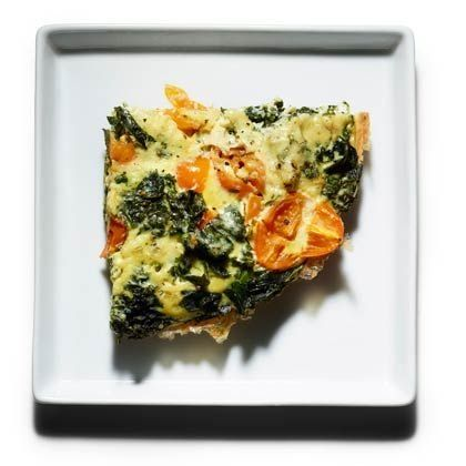 Try cooking up this simple braised kale frittata.   Health.com