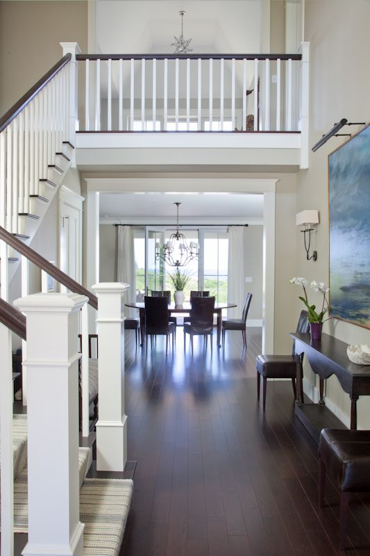 239 Best New House Stairs Foyers Images On Pinterest