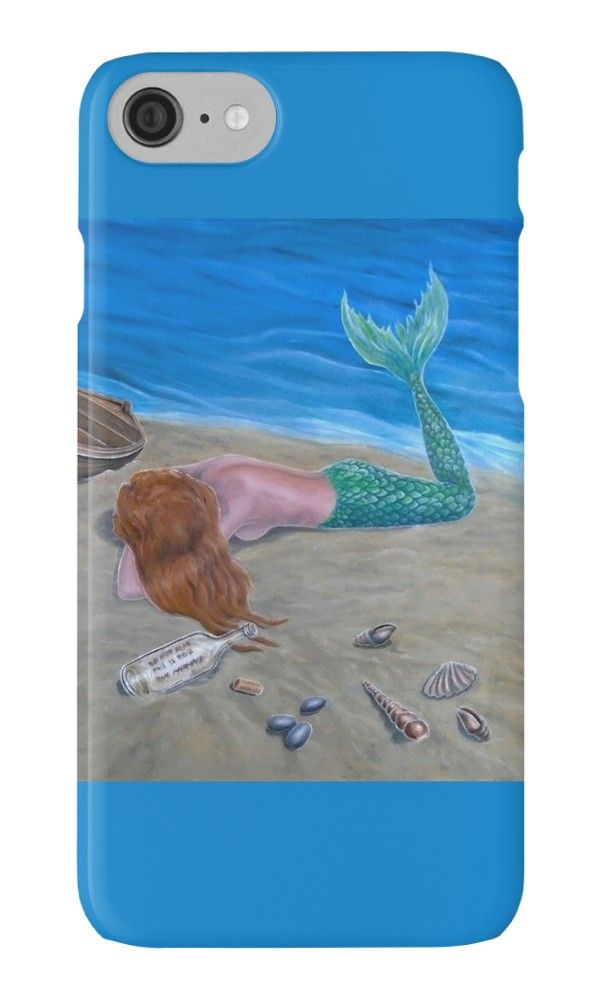 IPhone Case,  mermaid,aqua,blue,colorful,fantasy,cool,beautiful,unique,trendy,artistic,unusual,accessories,for sale,design,items,products,ideas,redbubble