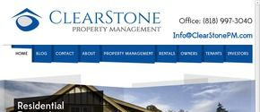 ClearStone Property Management is your solution to property management in the San Fernando Valley and Los Angeles. Call (818) 997-3040 for more information.