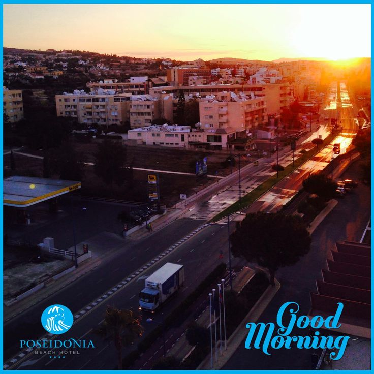 #GoodMorning People... Imagine yourself #Waking up to such a #View. #Sunrise from the Poseidonia Beach Hotel... #InlandView #Morning #LoveCyprus #Resort #Beachhotel #inspiringday #Travelgram #Atmosphere #Nature #Sun #Cyprus #Limassol — at Poseidonia Beach Hotel.