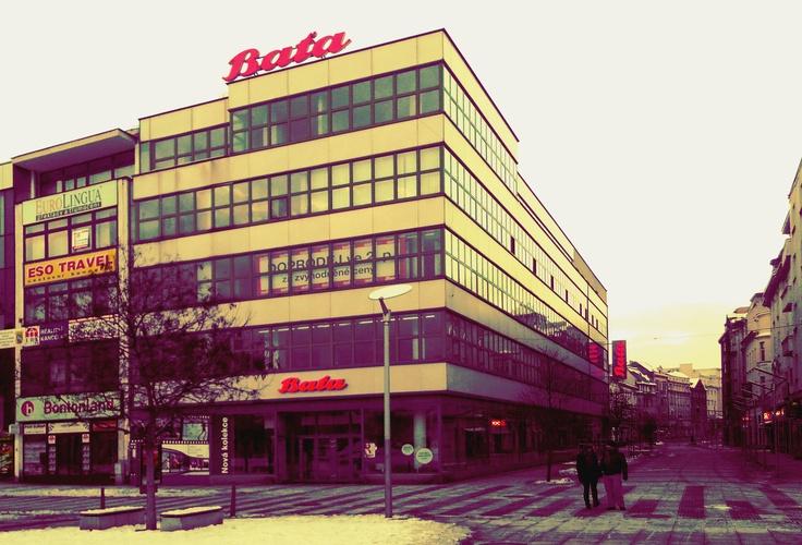 Baťa in Ostrava